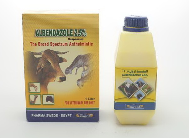 Albendazole 2.5% Pharma Swede