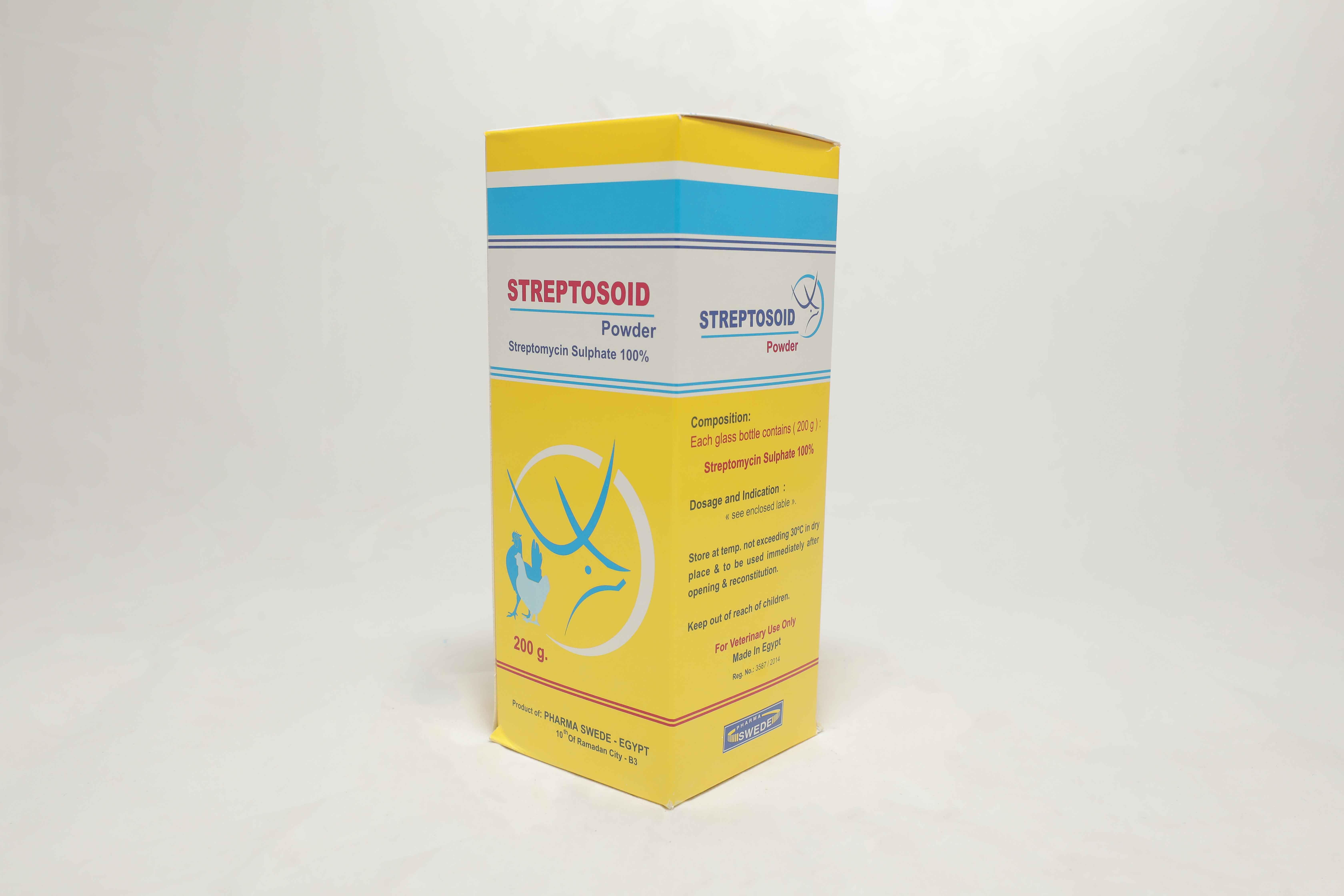 Streptosoid powder