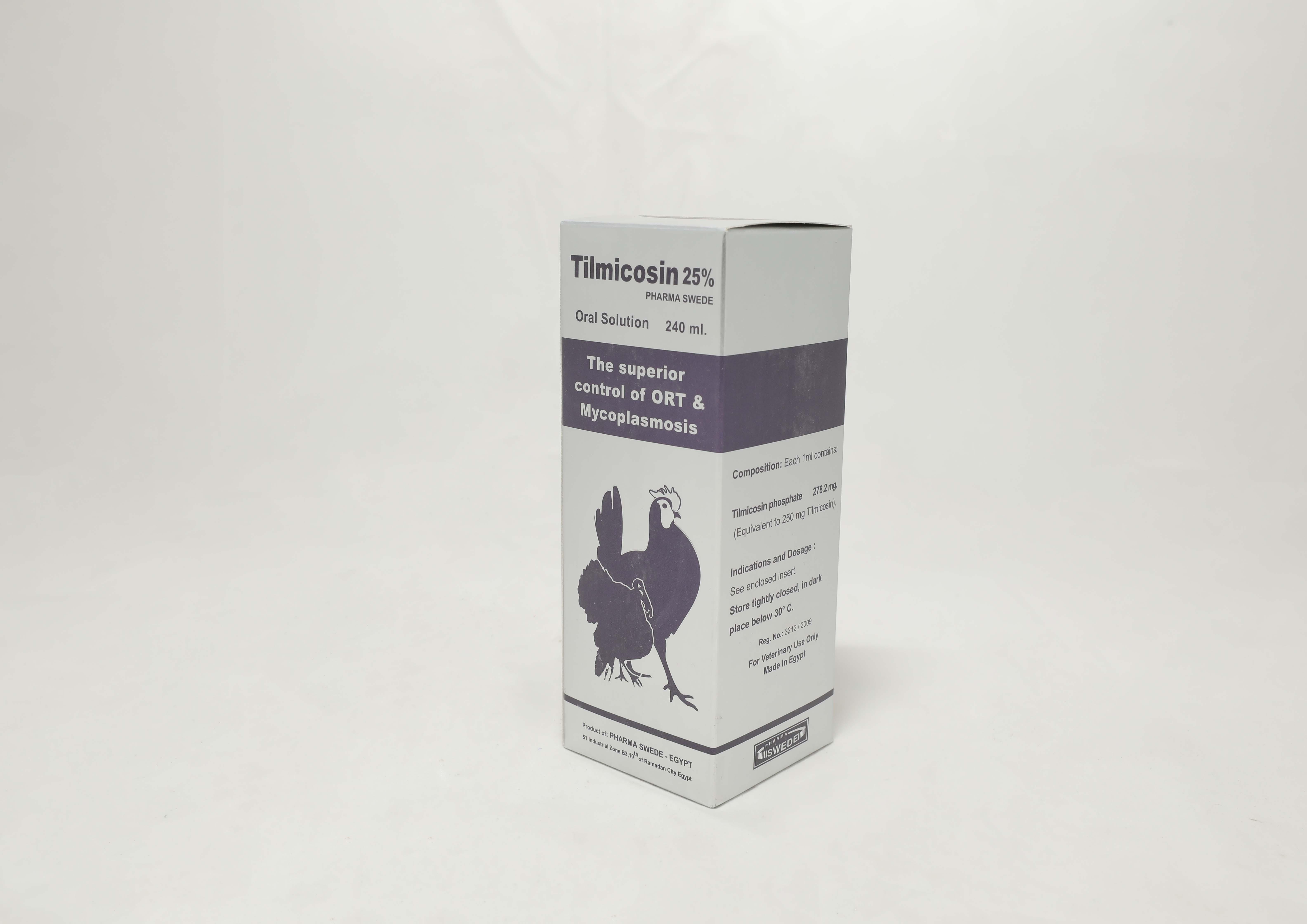 Tilmicosin 25% Pharma Swede